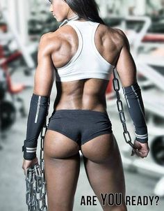 Super glutes - that's one tight ass! #glutes