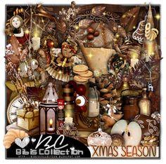 "Kit ""XMas Season"" by Bibi's Collection matching kit to Tammy's Welt tube ""Dragonmaid"""