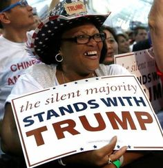 In the past month the number of black voters for Donald Trump has increased significantly. If Trump skims of black voters from the Democratic Party he would win the 2016 election in a landslid… Vote Trump, Trump Wins, Pro Trump, Silent Majority, New Gods, Democratic Party, Donald Trump, Presidents, Politics