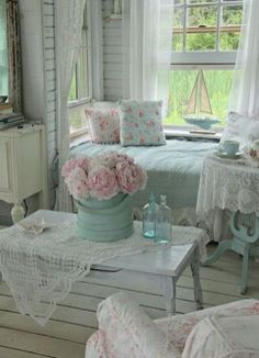 Shabby Chic Living Room Ideas (57)