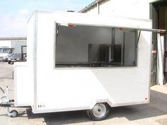Mobile catering Trailer, burger vans, street food, outdoor catering events, Food trailer