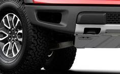 Colosales llantas todo terreno de 17¨ especiales para Off-Road con rines de aluminio diseño único para Lobo SVT RAPTOR.