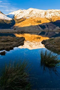Mt Aspiring National Park | Reflections - Mt Aspiring National Park