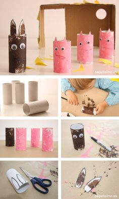 Button Crafts For Kids, Summer Camp Themes, Traditional Tales, Toddler Classroom, Happy Easter Day, Creative Curriculum, Toilet Paper Roll Crafts, Three Little Pigs, Programming For Kids