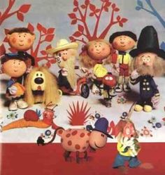 The Magic Roundabout a British children's program in the with Dougle the dog 1970s Childhood, My Childhood Memories, Magic Roundabout, Kids Tv, Classic Tv, My Memory, The Good Old Days, Illustrations, Book Illustration