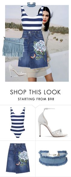 """Blue"" by majo-mv on Polyvore featuring moda, Perfect Moment, Altuzarra, Dolce&Gabbana, DANNIJO y Rebecca Minkoff"