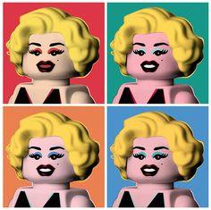 Lego Marilyn.