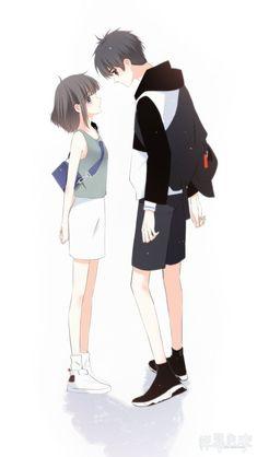 Love Never Fails Manga Cute Couple Art, Anime Love Couple, Manga Couple, Couple Cartoon, Girl Cartoon, Anime Couples Drawings, Anime Couples Manga, Cute Anime Couples, Anime Cupples