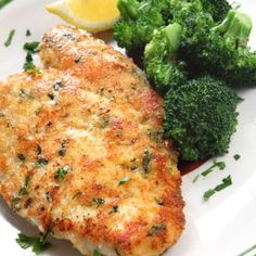 Easy Crockpot Italian Chicken Breast Recipe on Yummly. No Calorie Foods, Low Calorie Recipes, Healthy Recipes, Healthy Meals, Healthy Foods, Vegetarian Recipes, Healthy Eating, Parmesan Crusted Chicken, Breaded Chicken