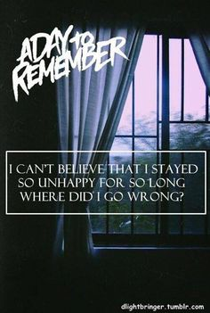 The Plot to Bomb the Panhandle ★ A Day to Remember