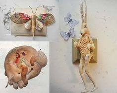 """beasties & birds & butterflies made by """"Mr. Finch"""""""