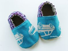 baby booties - pattern