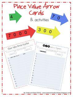 Teach Place Value with Arrow Cards