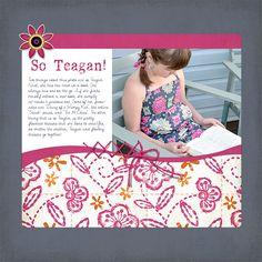 Let Folk Art Patterns Inspire Your Scrapbook Page Designs | Barb Brookbank | Get It Scrapped