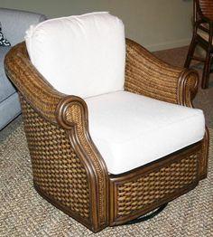 Glider-RuthL. Swivel Glider, Gliders, Wicker, Armchair, House, Furniture, Home Decor, Sofa Chair, Single Sofa