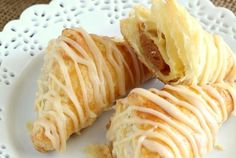 Pumpkin Puff Pastry Turnovers