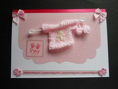 Pink Knitted Cardigan Gorgeous Baby Girl CArd
