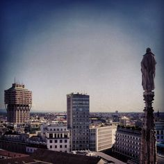 Milano view from Duomo. #Milano #mytravelblog photo by Stella Marega