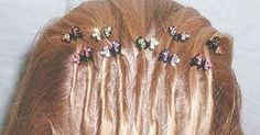 Tons of those little butterfly clips all over your head. | 33 '90s Trends That, In Retrospect, Maybe Weren't Such A Great Idea