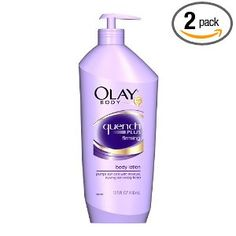 Olay Quench Plus Firming Body Lotion - good for normal to dry skin, has skin-identical (repairing) and cell-communicating ingredients, palm oil, plus antioxidants