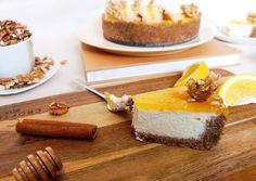 Mézes-diós sajttorta, narancs zselével Cheesecake, Food And Drink, Cakes, Dios, Creative, Cake Makers, Cheesecakes, Kuchen, Cake