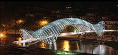 グルジアのシェル構造の歩道橋 - topics / Archstructure.net
