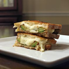 What could wrong when you put Fresh Mozzarella cheese and fried avocado in between two pieces of Italian bread? Nothing.