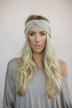 Our wide twist hair band is soft, snug and your perfect workout partner. Our tapered and wide cut makes our turban hair wrap everything you want you basic hair band to be. Why We Love Them - We love t