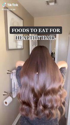 Hair Tips Video, Hair Videos, Hair Growing Tips, Grow Hair, Shiny Hair Tips, Diy Hair Treatment, Diy Hair Mask, Healthy Hair Tips, Hair Remedies