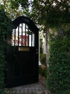 gateway to a beautiful charleston garden
