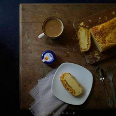 "200 Likes, 21 Comments - V E E (@vfriska_p) on Instagram: ""Page 3 #MyStill_Food photo project Day 306 of 366 #mycoffee_diary  Cheese Strudel  A strudel is a…"""