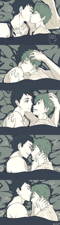 SouMako - Comfort by XOtakumiX.deviantart.com on @DeviantArt So sweet ^-^