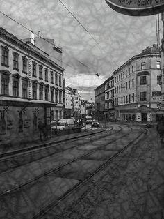 Ash rain starts by Michaela Sibi - In a suburb of Vienna it starts to rain ash