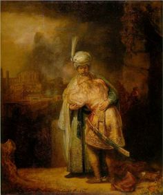 David And Jonathan Artwork By Rembrandt Van Rijn Oil Painting & Art Prints On Canvas For Sale David And Jonathan, Jonathan Adler, Caravaggio, Rembrandt Art, Rembrandt Paintings, List Of Paintings, Painting Prints, Art Prints, Baroque Art