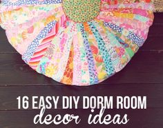 Some cute ideas not just college girls dorm rooms