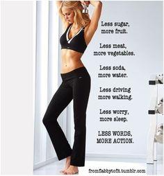 My fitness oath!