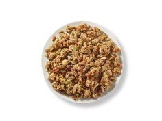 Honey Nut Quinoa Flake Granola The perfect gluten-free granola to top a bowl of Greek yogurt, or even a fresh berry crumble. It's crunchy, sweet and filled with the plant-forward protein Ancient Harvest™ Quinoa Flakes.