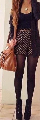 fall outfit ideas / dark gray cardigan + booties