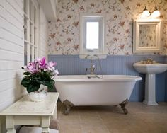 fixtures-wainscoting-and-whimsical-wallpaper-result-fun-functional-bathroom-ideas-houses-interior.com-wainscoting-wall-wallpaper-33940.jpg 1,280×1,024 pixels