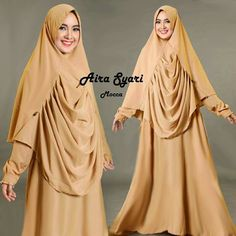 Baju Muslim Gamis Syar'i Aira Syari Mocca - http://warongmuslim.com/baju-muslim-gamis-syari-aira-syari-mocca.html