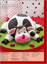 #Tortas Decoradas 2012 N° 03 - TORTAS RAPIDAS - EviaEdiciones.com - Vaquita