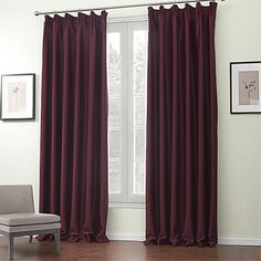 (Two Panels) Classic Solid Blackout Curtains – USD $ 69.99