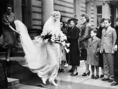 Lady Diana Percy married Viscount Brackley, John Sutherland Egerton, at Westminster Abbey on 29th April 1939, just months before the outbreak of WWII