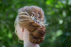 Crystal headband. Bridal Headpiece. Wedding hair accessories.