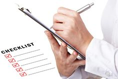 The Bathroom Survey Part One – Using a Checklist to Find Problem Areas