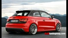 rendered tuned Audi A1
