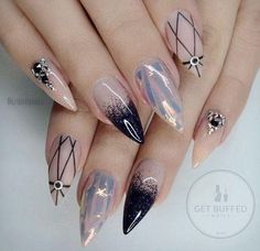 Best Stiletto Nails Designs Trendy for 2019 – Page 14 – Chic Cuties Blog