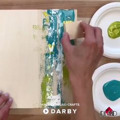 3 Ways to Make Easy Abstract Art - Painting Techniques Easy Abstract Art, Abstract Canvas Art, Diy Canvas Art, Simple Canvas Art, Abstract Art Paintings, Acrylic Art, Art Diy, Diy Wall Art, Abstract Painting Techniques