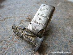 Antique Pocket Saint by tippleandsnack