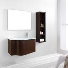 @Overstock.com - This Stella bathroom vanity features maximum storage with two doors. The vanity is constructed from solid wood laminate with quality veneer finish and comes complete with the mirror.http://www.overstock.com/Home-Garden/Stella-36-inch-Single-sink-Bathroom-Vanity-Set/6234210/product.html?CID=214117 $881.59